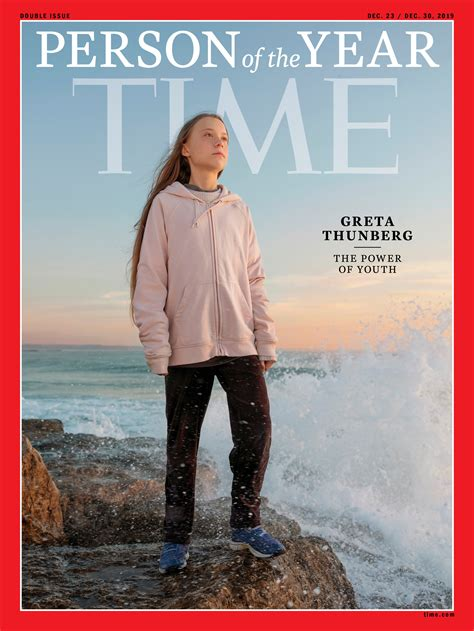 Teen Climate Activist Greta Thunberg Is Times Person Of