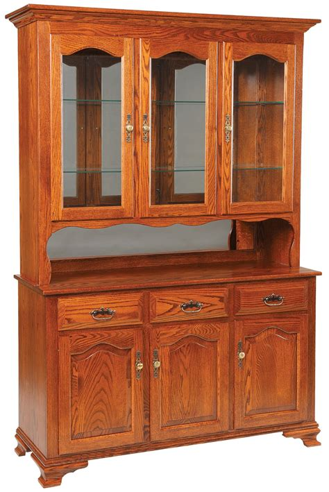 Buffet And Hutch Furniture by Daniel S Amish Hutch And Buffets Harvest Buffet W Hutch