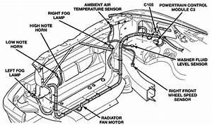 2001 Dodge Durango Front End Diagram