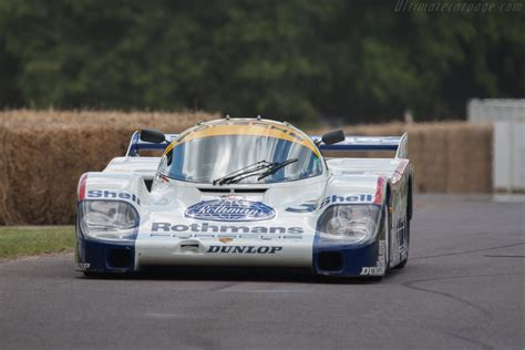 Porsche 956 (Chassis 956-003 - 2011 Goodwood Festival of ...