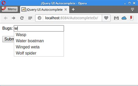 Jquery Autocomplete Tutorial