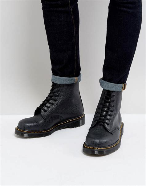 Dr Martens Madein Thailand lyst dr martens made in 1460 pebble boots in
