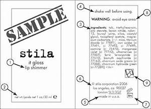 cosmetic ingredient label rules truth in aging With fda cosmetic labeling requirements