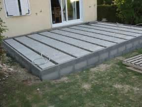 Construire Une Terrasse En Bois Sur Dalle Béton by Nivrem Com Terrasse Bois Ou Dalle Beton Diverses Id 233 Es