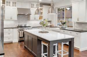 Modern Kitchen Benchtops by Hamptons Kitchens Rosemount Kitchens