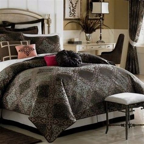 Chocolate Brown Duvet Covers by Waterford Rosemarie Duvet Cover Shams Chocolate