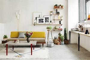 Deco Pour Salon : astuces d co pour un petit salon blueberry home ~ Teatrodelosmanantiales.com Idées de Décoration