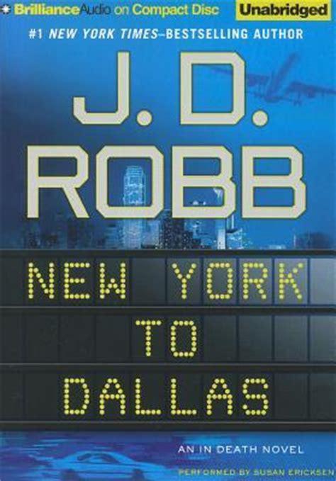 york  dallas  death   jd robb reviews