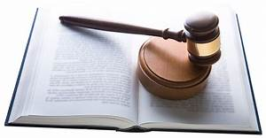 Gavel With Law Book PNG Image - PngPix