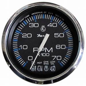 Faria Chesapeake Black Ss 4 U0026quot  Tachometer W  Systemcheck