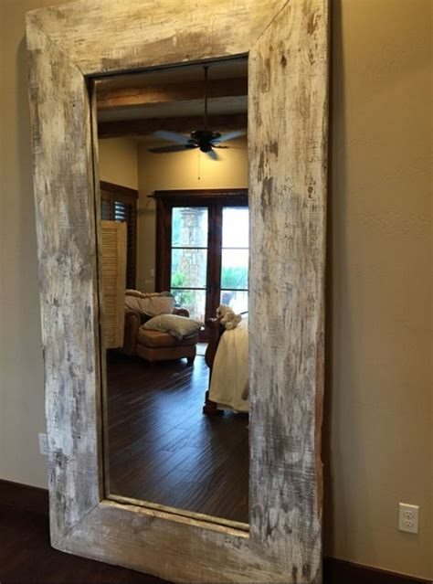 floor mirror reclaimed wood gorgeous ideas to make large handmade full length rustic reclaimed wood floor mirror my home