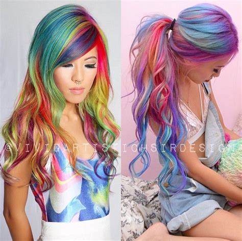 Color Hairstyles For Hair by Multi Colored Hair Don T Care Images And Tutorials