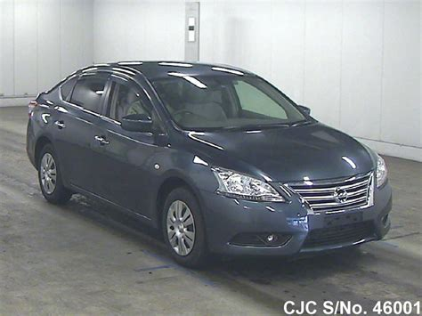 nissan bluebird 2013 nissan bluebird sylphy blue for sale stock no
