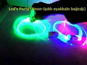 Led s Party Neon Işıklı ayakkabı bağcığı
