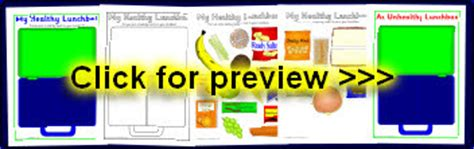 healthy eating primary teaching resources  printables