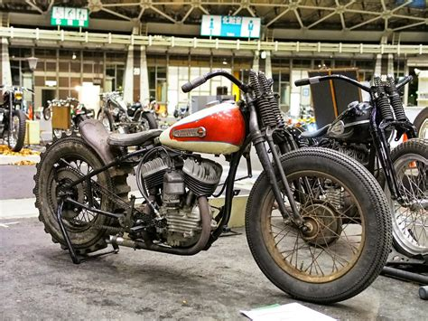 Custom Chopper Motorbike Tuning Bike Hot Rod Rods Retro H