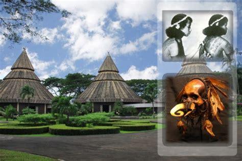 museum asmat taman mini indonesia indah