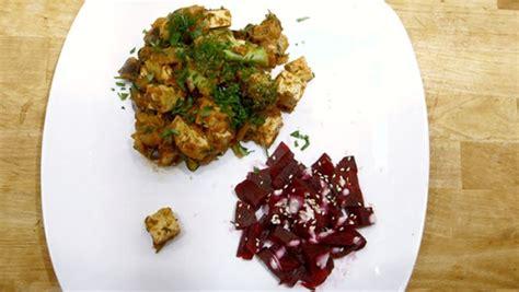 foodies recette cuisine sauté de tofu à l 39 aubergine des foodies