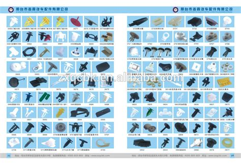 Car & Truck Door Panel Fasteners Automotive Plastic