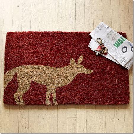 west elm door mat decorating trend fox d 233 cor simplified bee