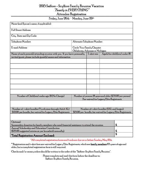 registration form format pdf registration reunions magazine