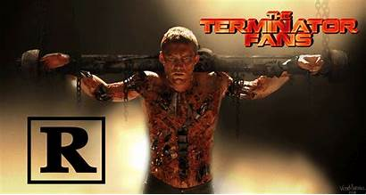 Terminator Salvation Rated Movie Marcus Crucifixion Intended