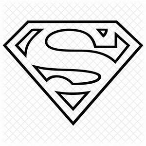 Superman svg icon download free. 2020