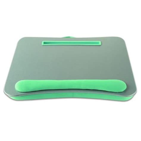 bed bath and beyond computer lap desk buy brookstone e pad portable laptop desk in chocolate