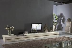 Meuble Bas Salon : meuble salon design un reflet de notre temps ~ Teatrodelosmanantiales.com Idées de Décoration