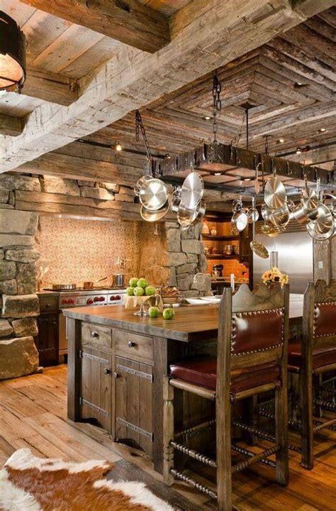 cuisine style cagne contemporain cuisine rustique 23 idées inspirations photos