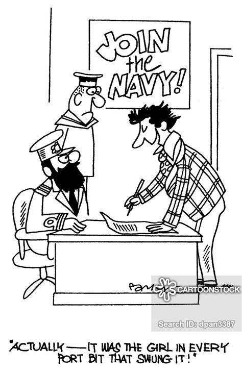 navy recruitment cartoons  comics funny pictures