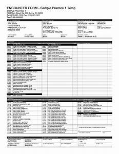 Pm Paper Superbill Template Examples