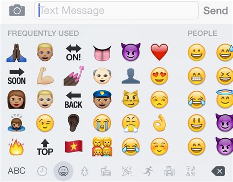 emojis iphone how to use new emojis on ios 8 3