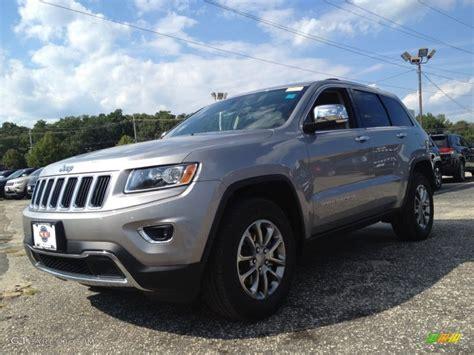 2015 billet silver metallic jeep grand cherokee limited