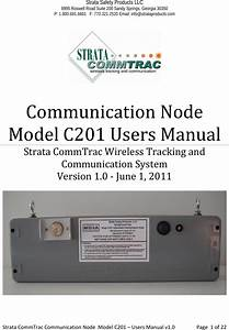 Strata Worldwide C201 Communication Node User Manual