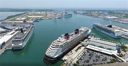 Port Canaveral Cruise Ships Florida Ship Caribbean