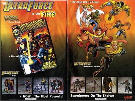 From Comic Books To Screens, Toys Of Ultraforce By Trivto