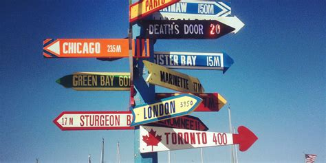 Worlds Kookiest Which Way Signs Remind Us There Are