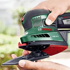 Bosch Psm 18 Li : bosch universal akku multischleifer psm 18 li 18 v li ionen 2 5 ah 1 akku schwingzahl 22 ~ Orissabook.com Haus und Dekorationen