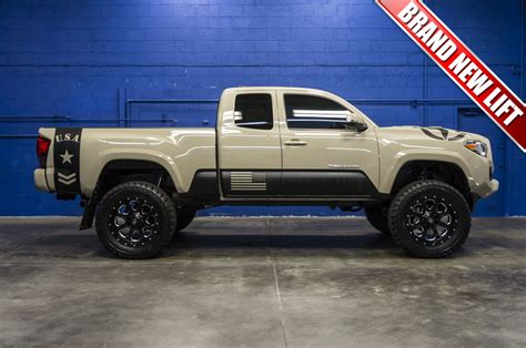Used Toyota Tacomas For Sale by Used Lifted 2016 Toyota Tacoma 4x4 Truck For Sale 31980