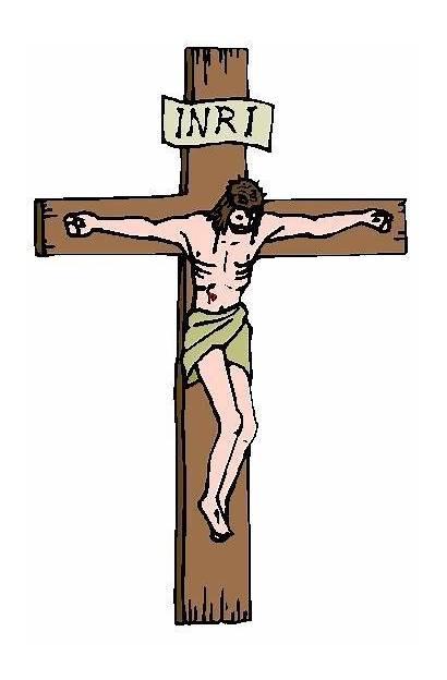 Crucifixion Clip Clipart Crucified Jesus Inri Jews