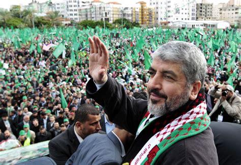 hamas leader khaled mashaal calls  jihad