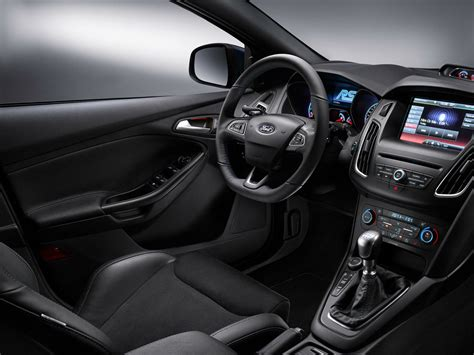 hatchback cars interior new 2017 ford focus rs price photos reviews safety