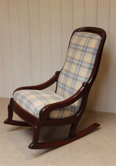 late upholstered rocking chair 244300