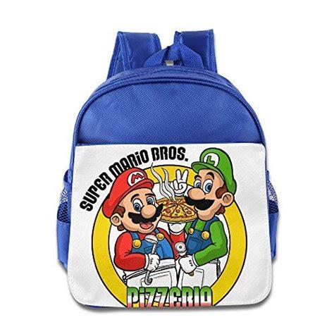 baggallini replacement strap mario bros pizza logo kids school backpack bag royalblue