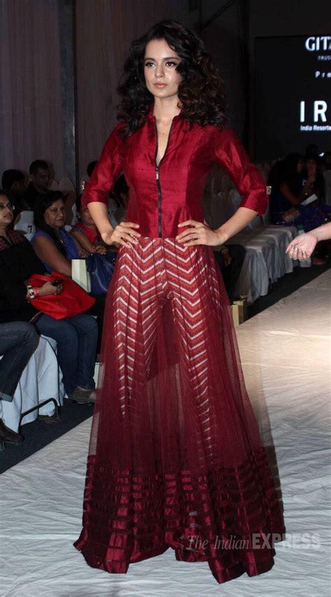 Kangana Ranaut stuns on the ramp,Sunny Leone off it ...