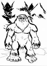 Sasquatch Drawing Bigfoot Cartoon Yeti Draw Coloring Finding Drawings Yowie Cryptozoology Myths Pages Von Getdrawings Mothman Cool Imgarcade Bit Gemerkt sketch template