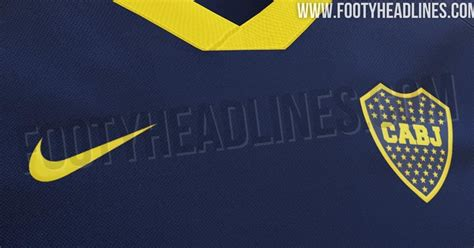 boca juniors home kit leaked footy headlines