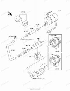 Kawasaki Motorcycle 2002 Oem Parts Diagram For Fuel Pump