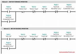 Plc Ladder Logic For 3 Phase Asynchronous Motor